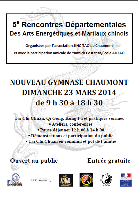 5e rencontre d partementale des arts nerg tiques et for Les arts martiaux chinois