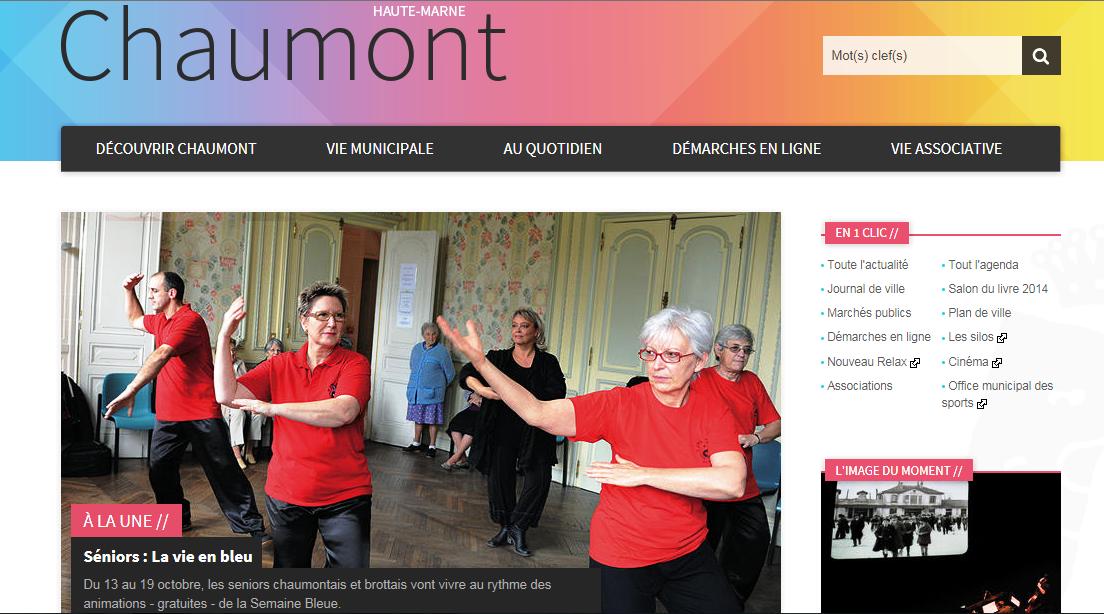 Site internet ville de chaumont 52 association jing tao for Piscine chaumont 52